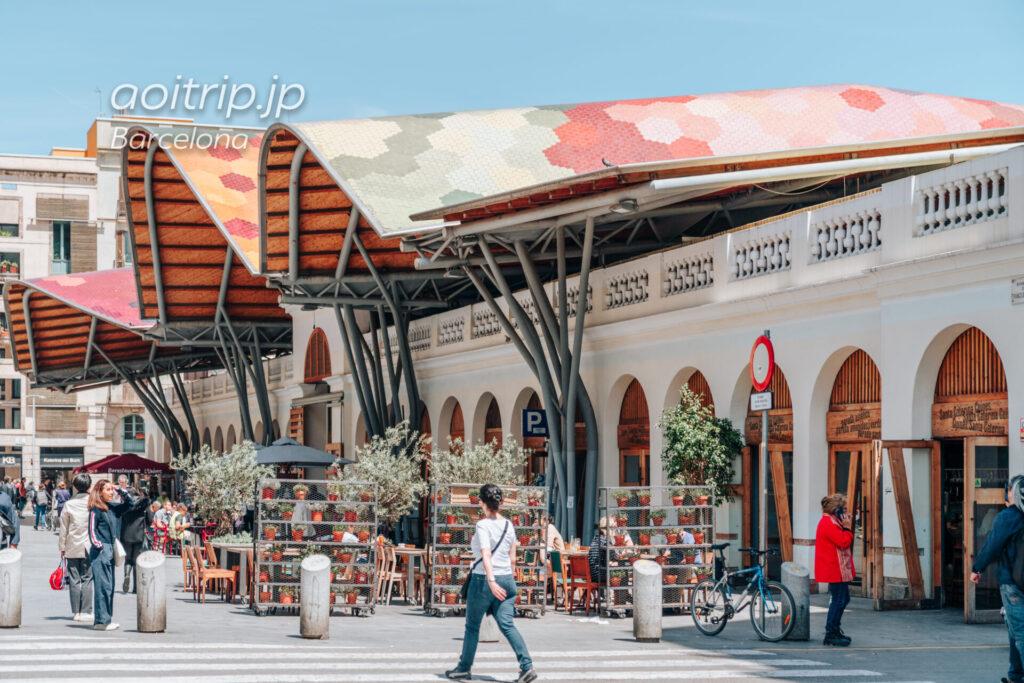 バルセロナのサンタカテリナ市場