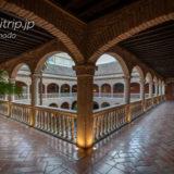 ホテル パラシオ デ サンタ パウラ グラナダ 旧修道院の回廊