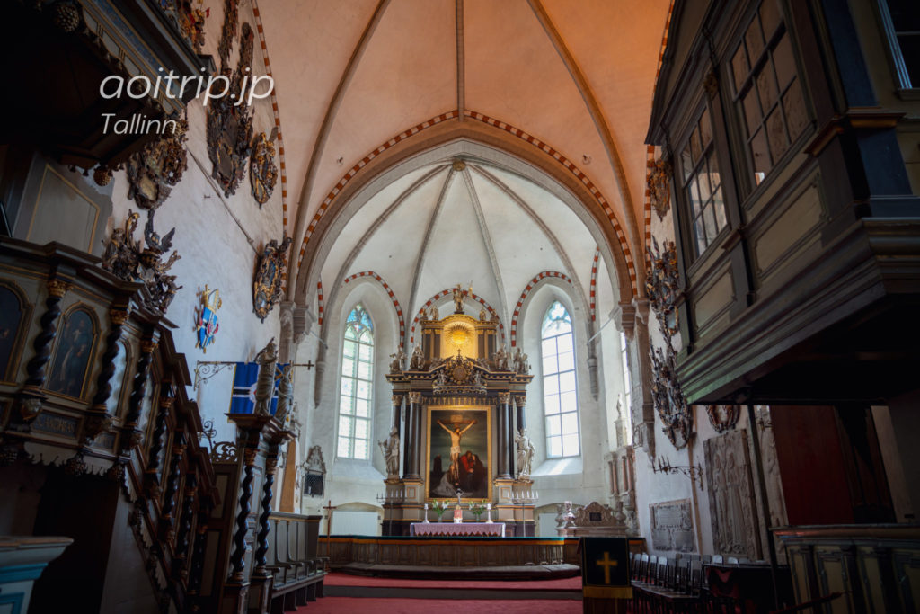 タリン聖母マリア大聖堂 トームキリクの祭壇