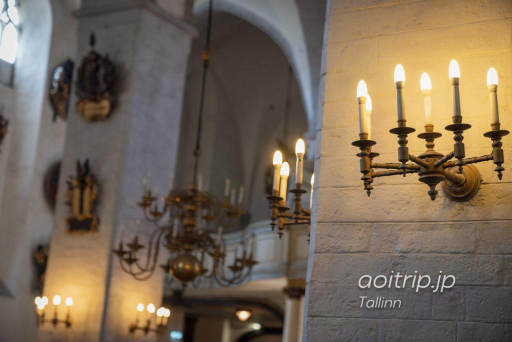 タリン聖母マリア大聖堂 トームキリクの内部