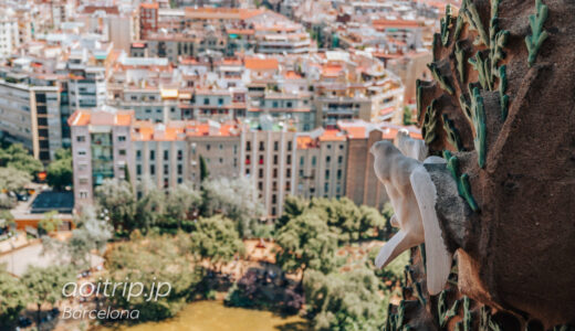 サグラダファミリアの塔へ|鐘楼(バルセロナ)