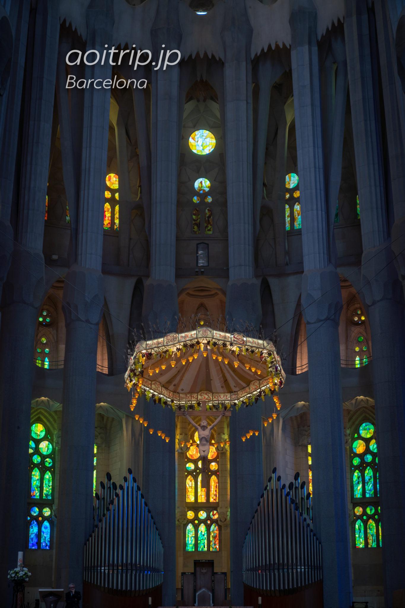 サグラダファミリア Basílica de la Sagrada Família 主祭壇