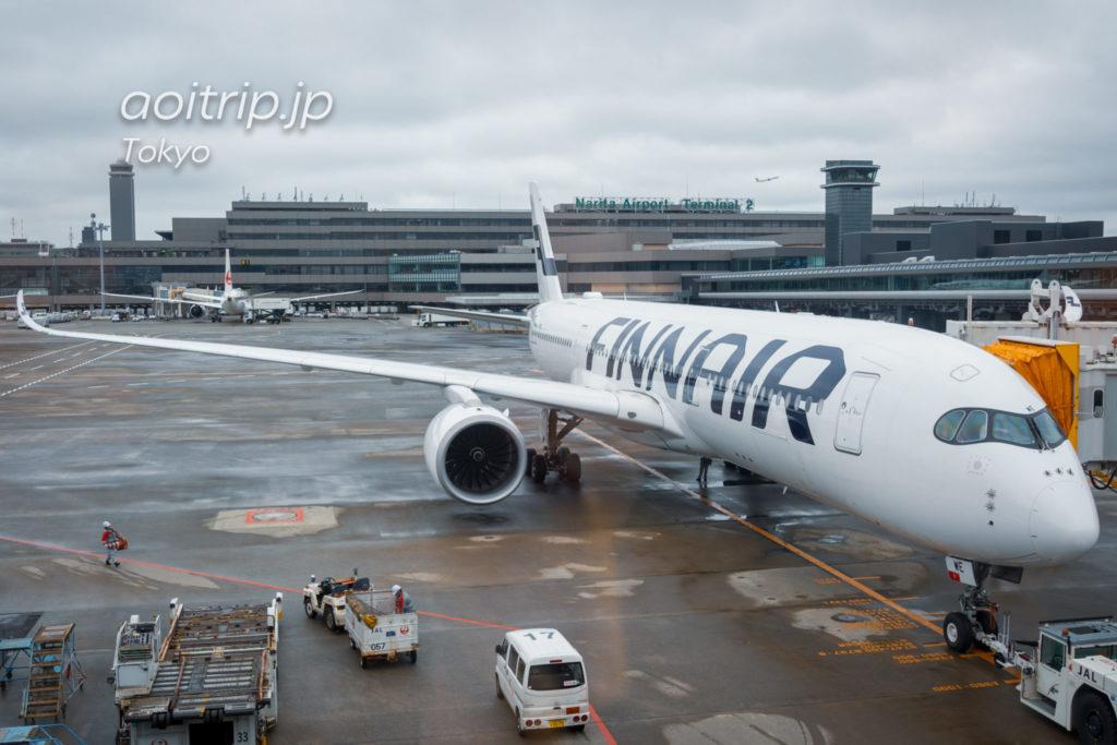 フィンエアー AY072便 A350-900の機体