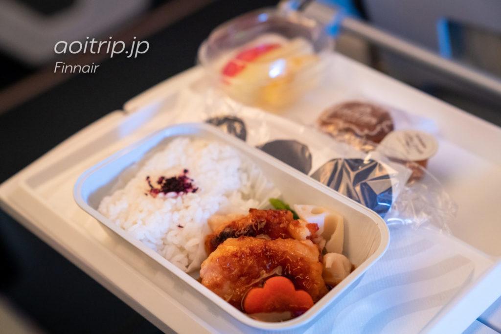 フィンエアーAY072便 機内食