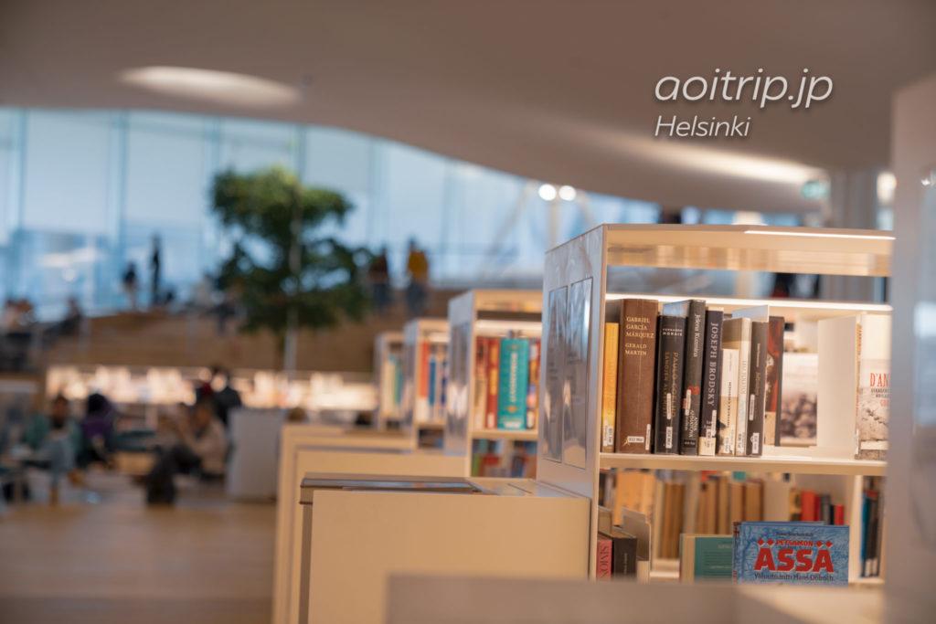 ヘルシンキ中央図書館の3階