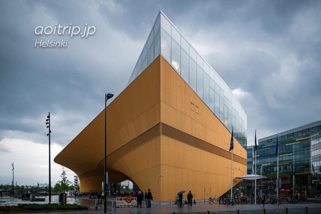 ヘルシンキ中央図書館 Helsinki Central Library Oodiの外観