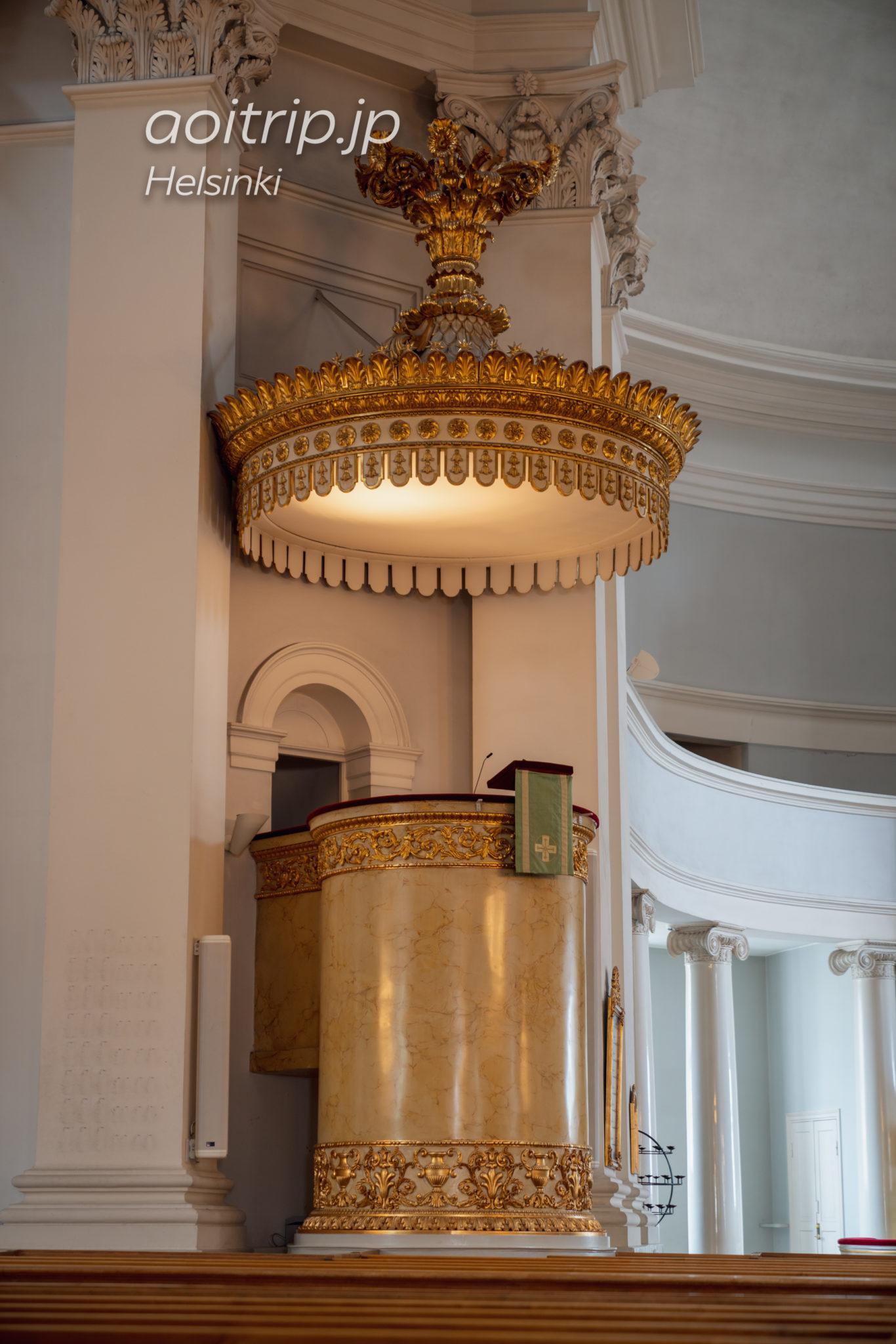 ヘルシンキ大聖堂の内部