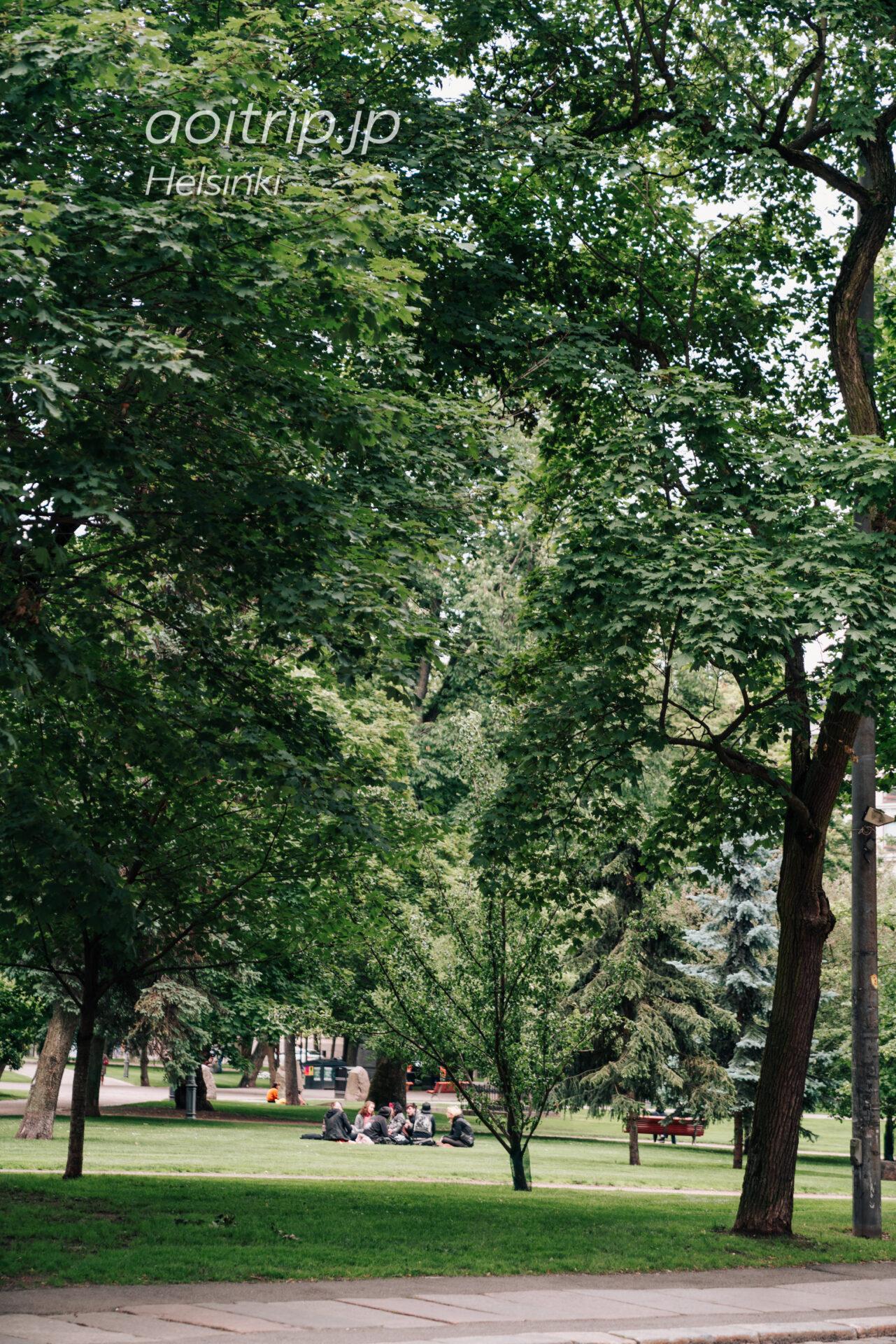 ヘルシンキ Old Church Park