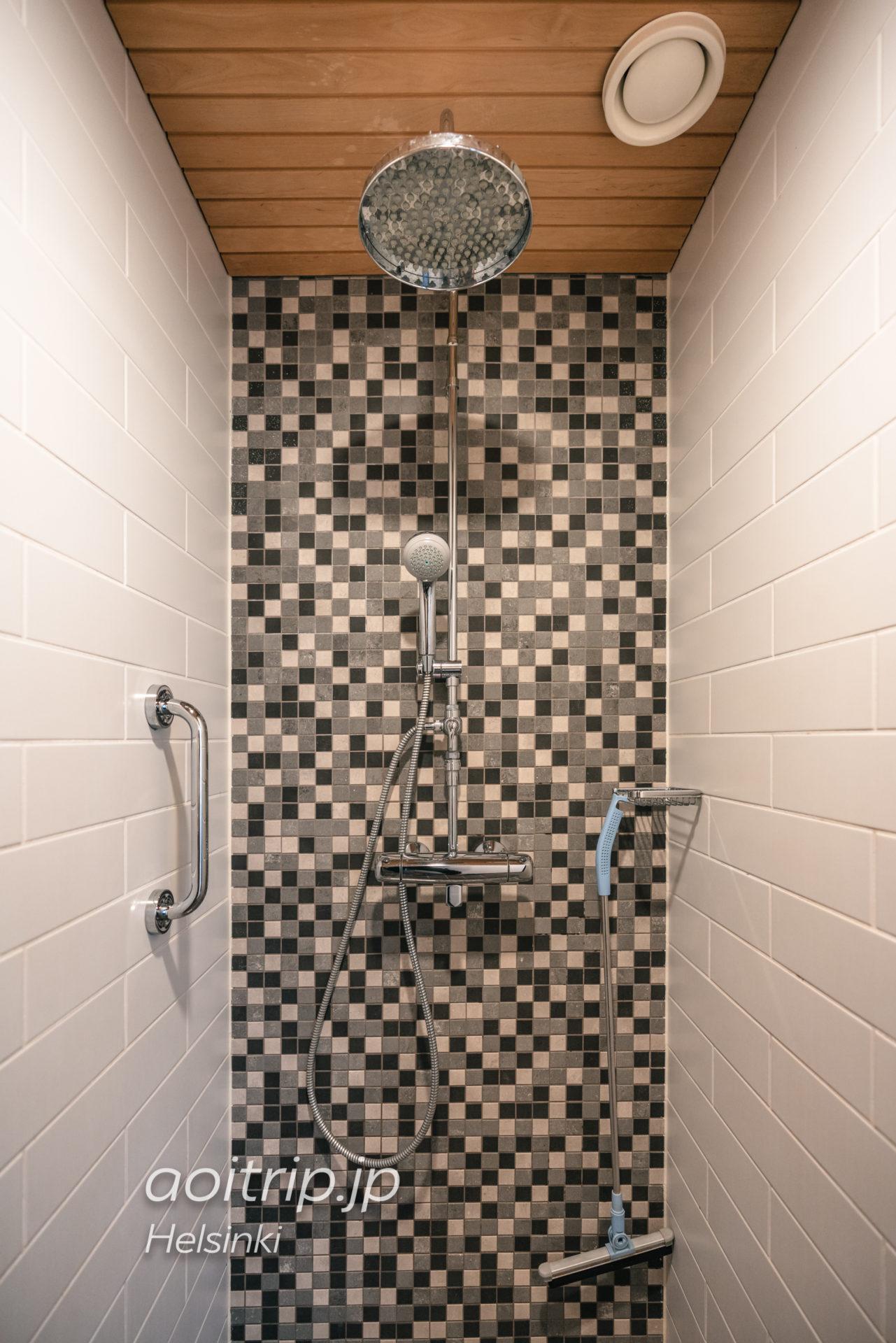 ホテルカタヤノッカのシャワー