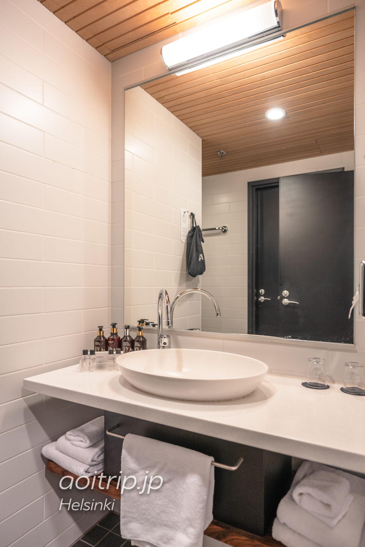 ホテルカタヤノッカの洗面台