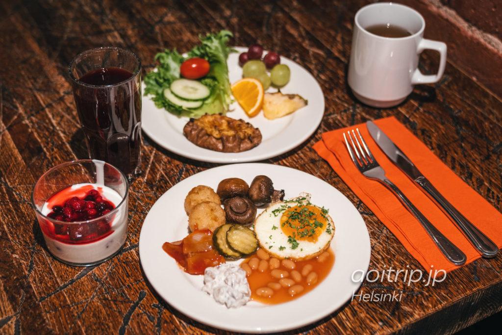 ホテルカタヤノッカの朝食