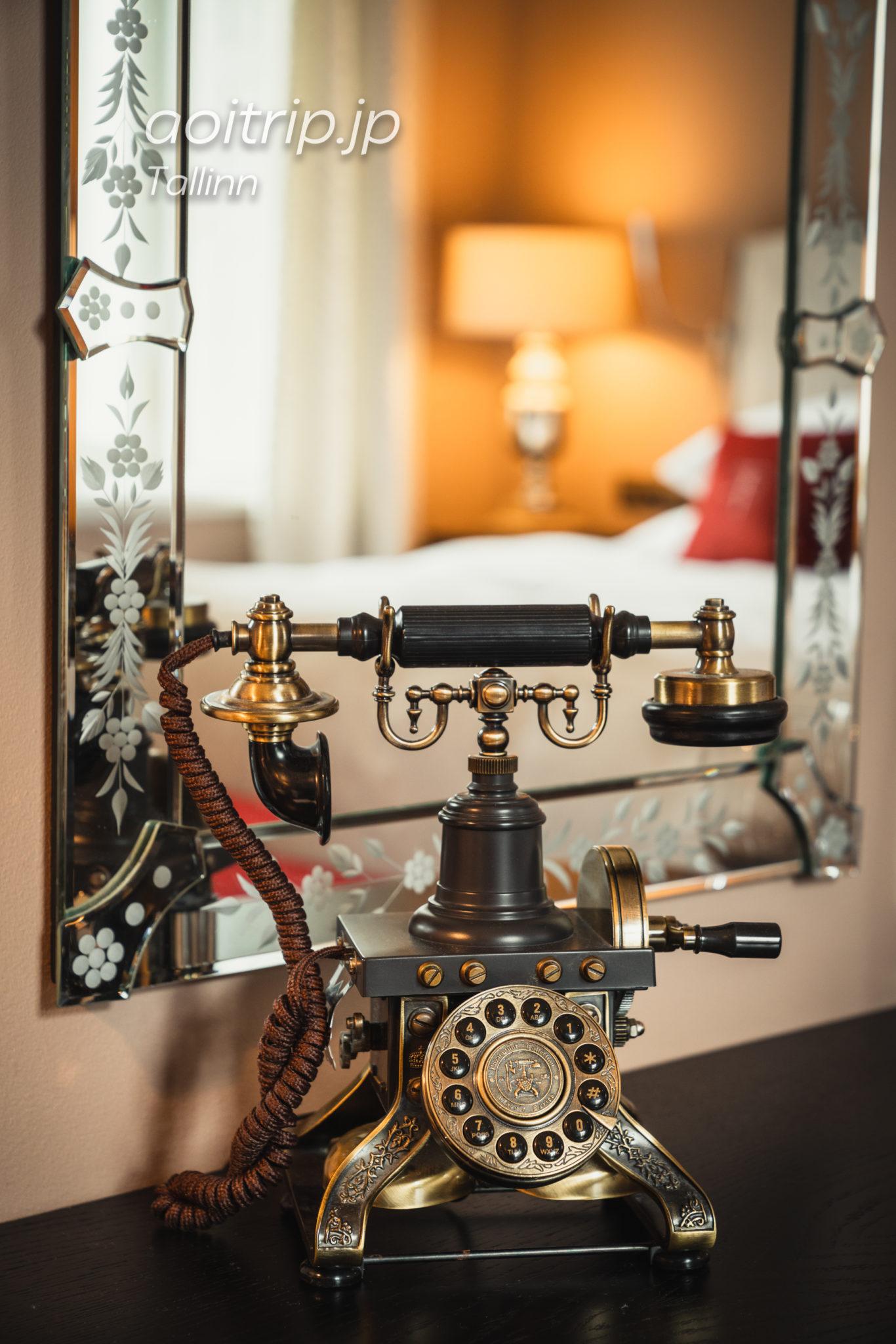 ホテルテレグラーフの内線電話