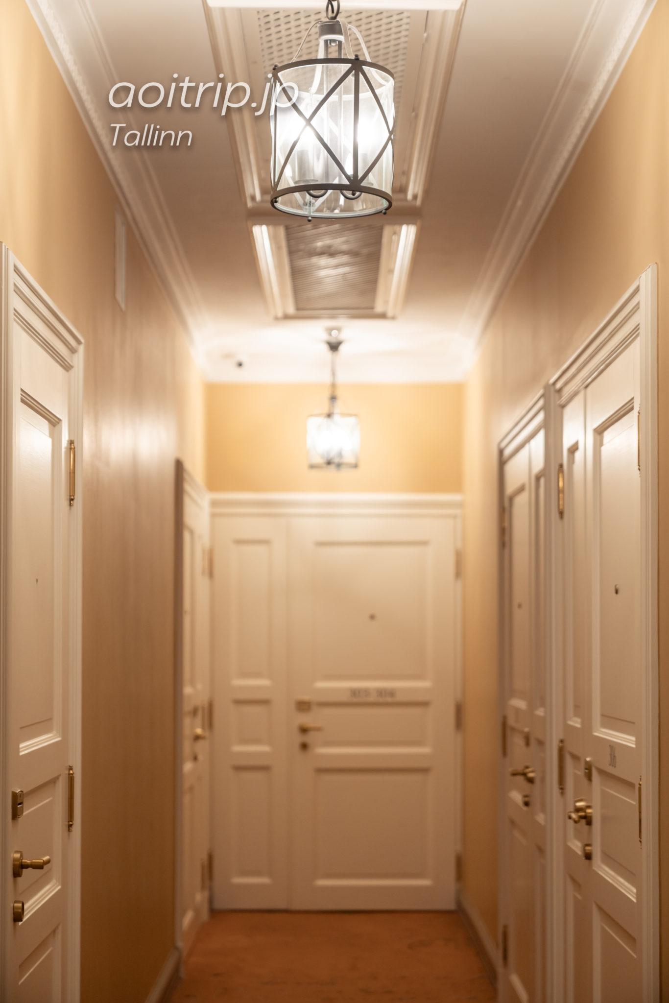 ホテルテレグラーフの内廊下