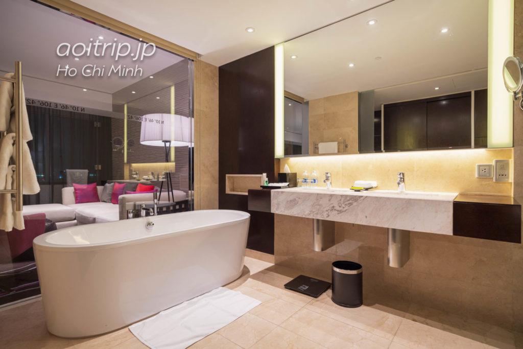 ルメリディアン サイゴンのバスルーム