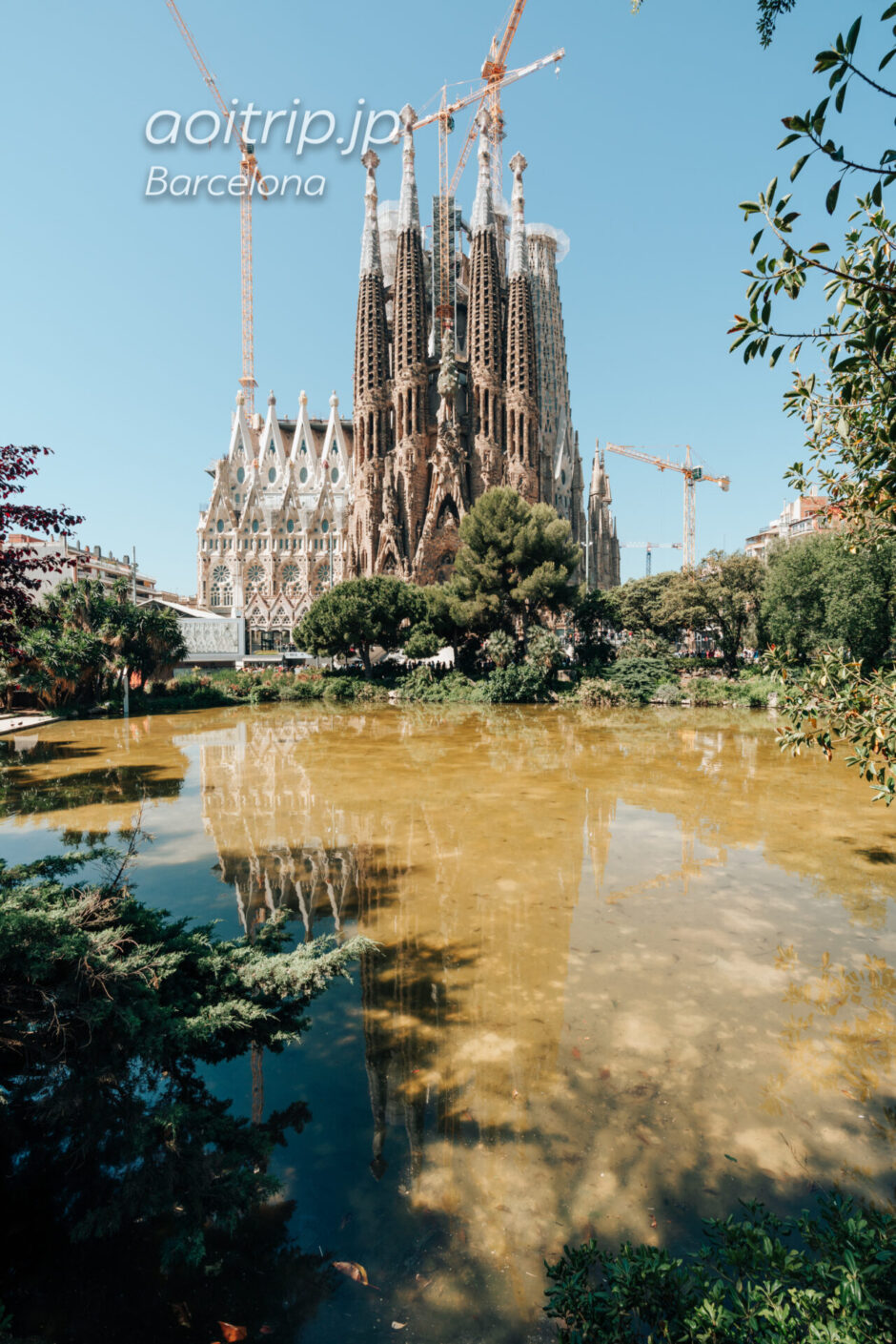 バルセロナ サグラダファミリア 生誕のファサード