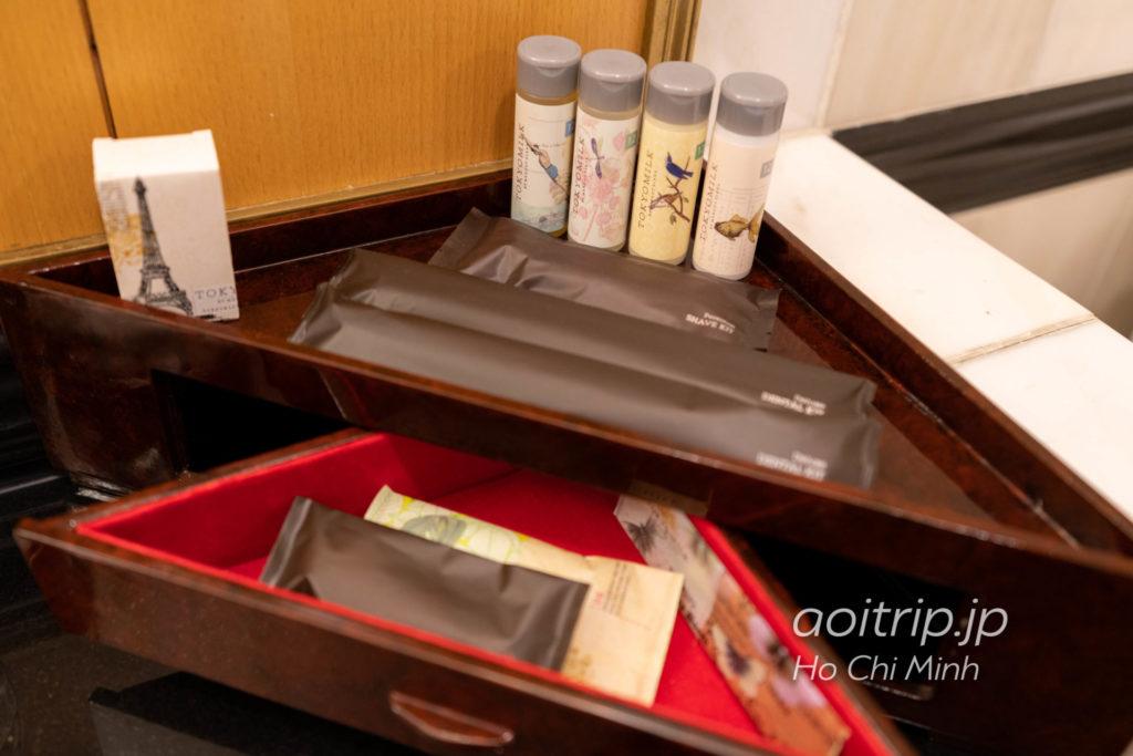 ルネッサンス リバーサイド ホテル サイゴンのアメニティ