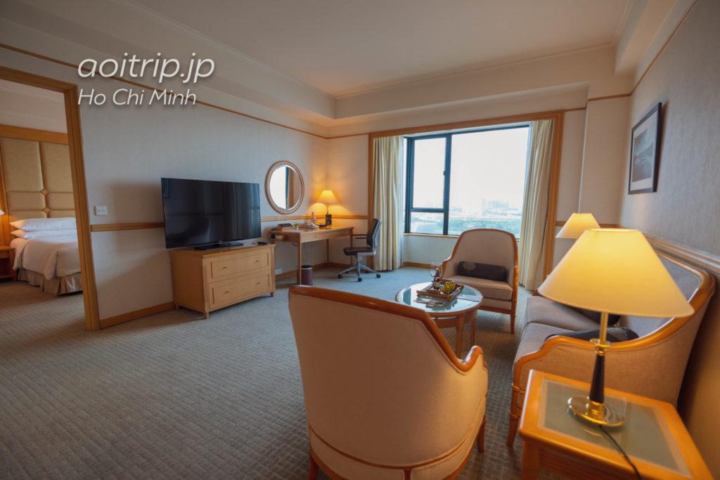 ルネッサンス リバーサイド ホテル サイゴン エグゼクティブスイートの客室