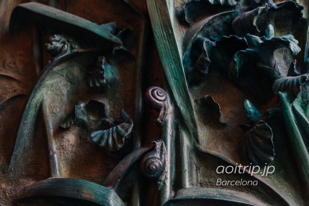 サグラダファミリアの生誕の門の扉