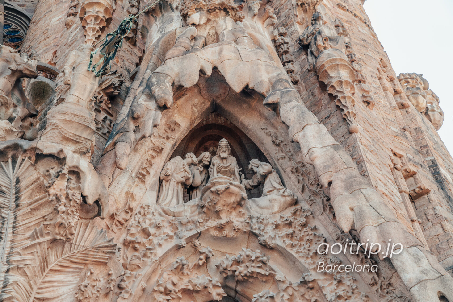 Basílica de la Sagrada Família(Façana del Naixement, The presentation of Jesus in the temple)
