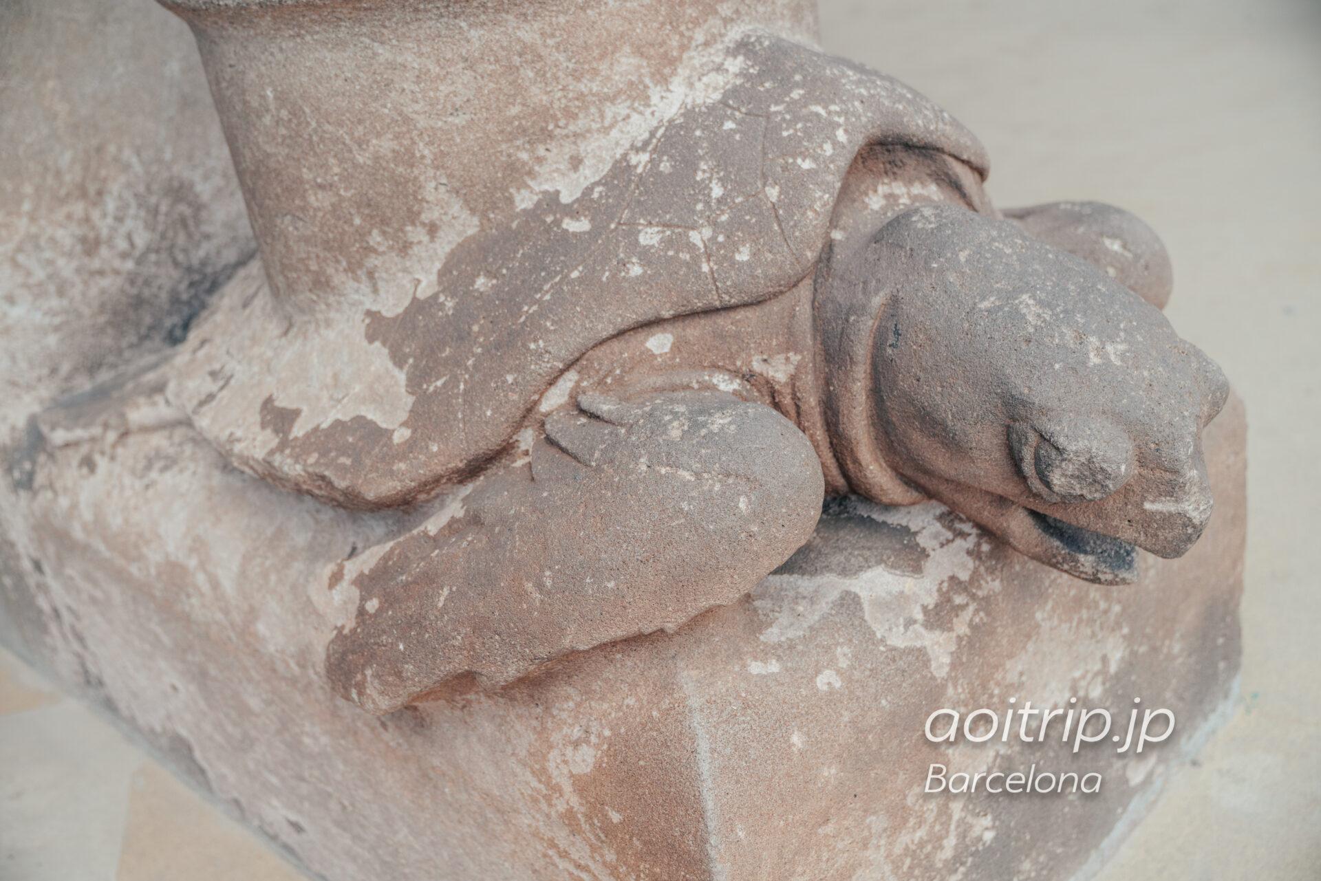 サグラダファミリア 生誕のファサード 亀の雨樋