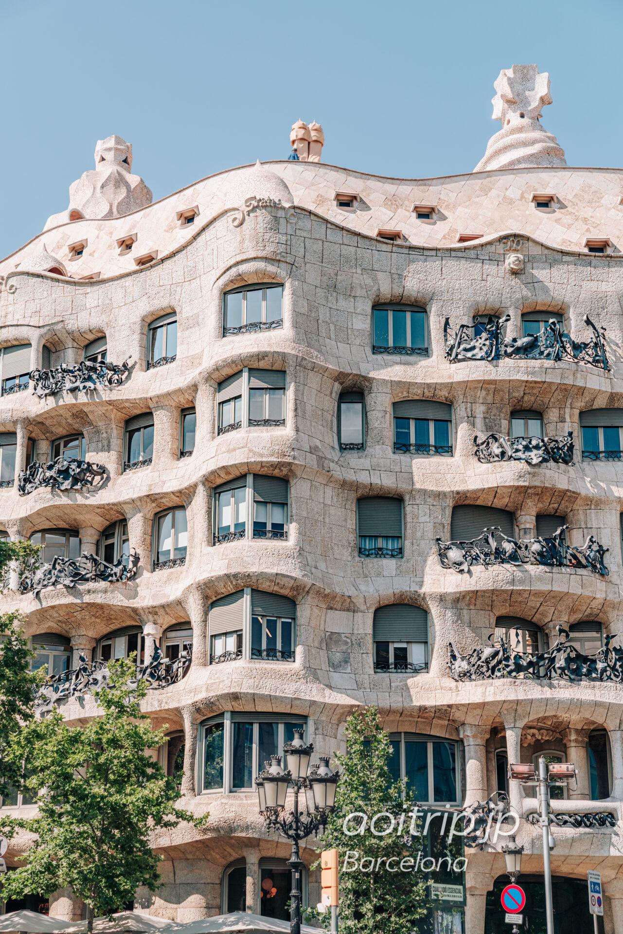 バルセロナ カサミラの外観