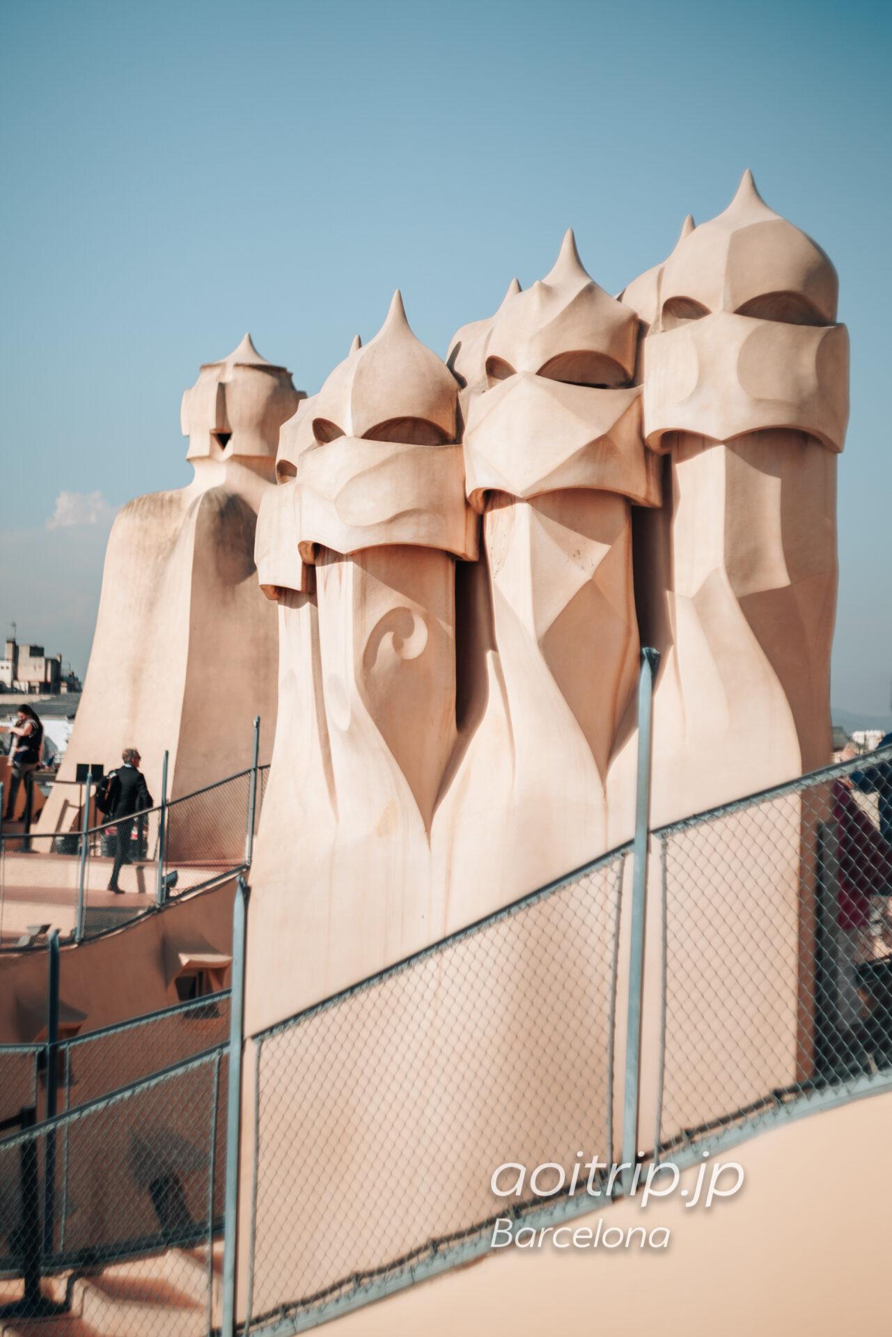 カサミラの屋上 Roof Terrace