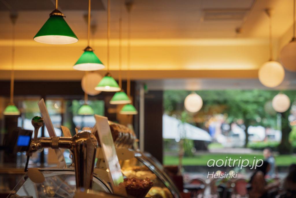 ヘルシンキ Café Esplanad