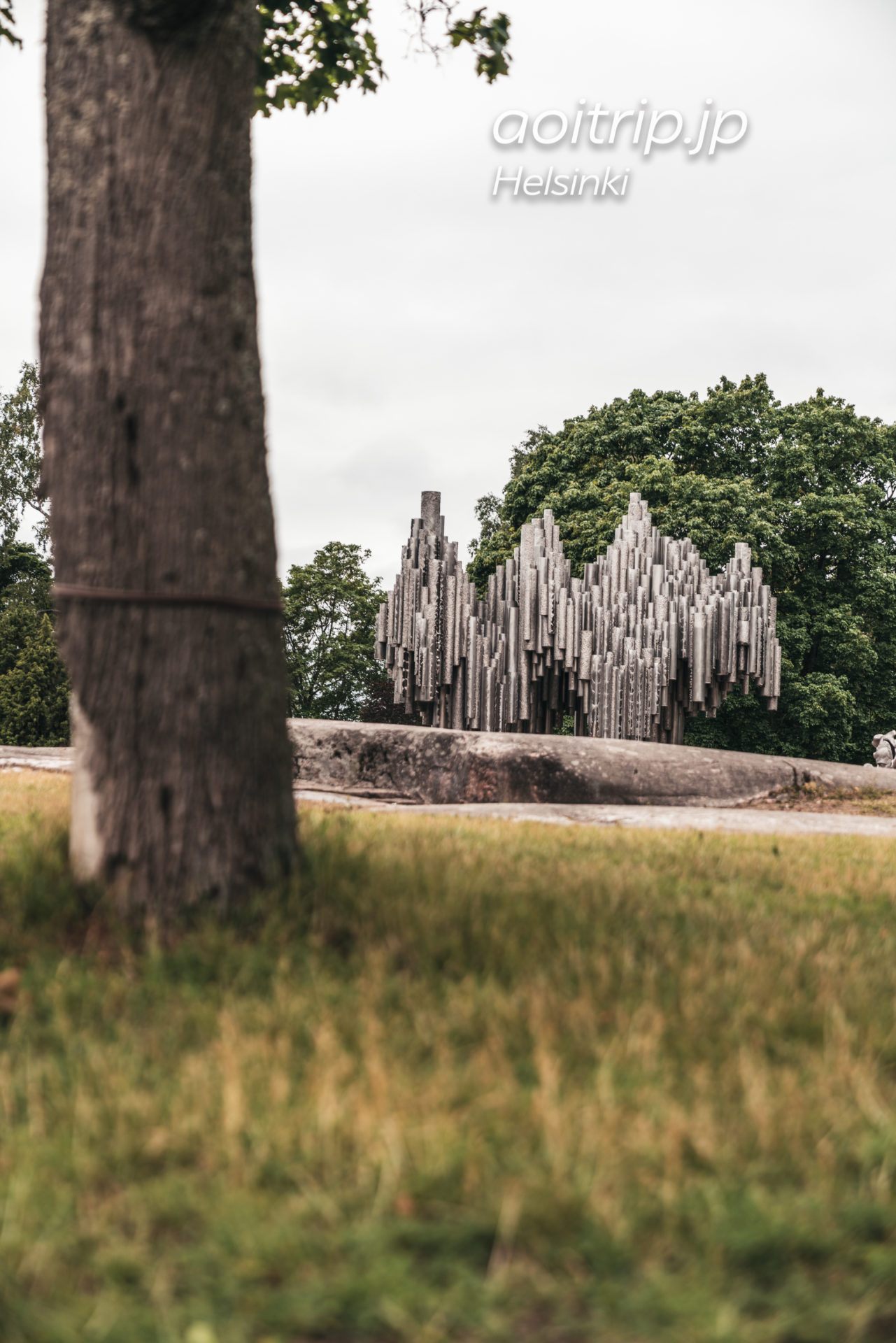 ヘルシンキのシベリウス公園