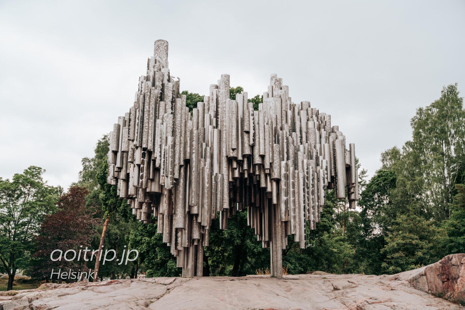 ヘルシンキのシベリウス モニュメント Sibelius Monument