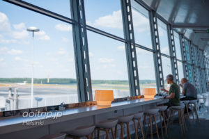 ヘルシンキヴァンター国際空港「シェンゲン協定加盟国エリア」にあるフィンエアーラウンジ