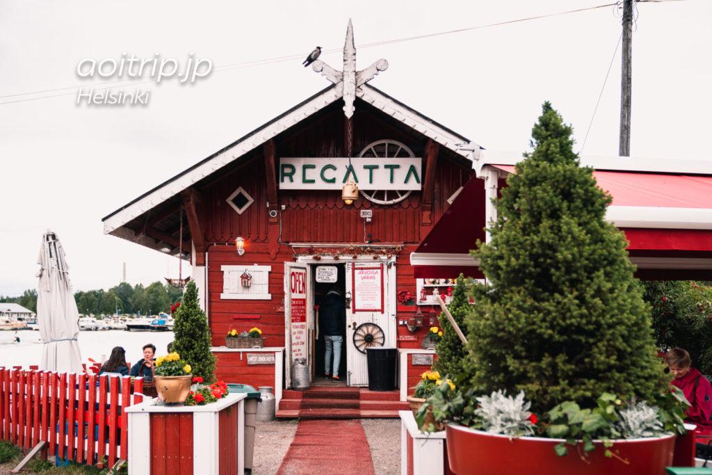 ヘルシンキのカフェRegatta