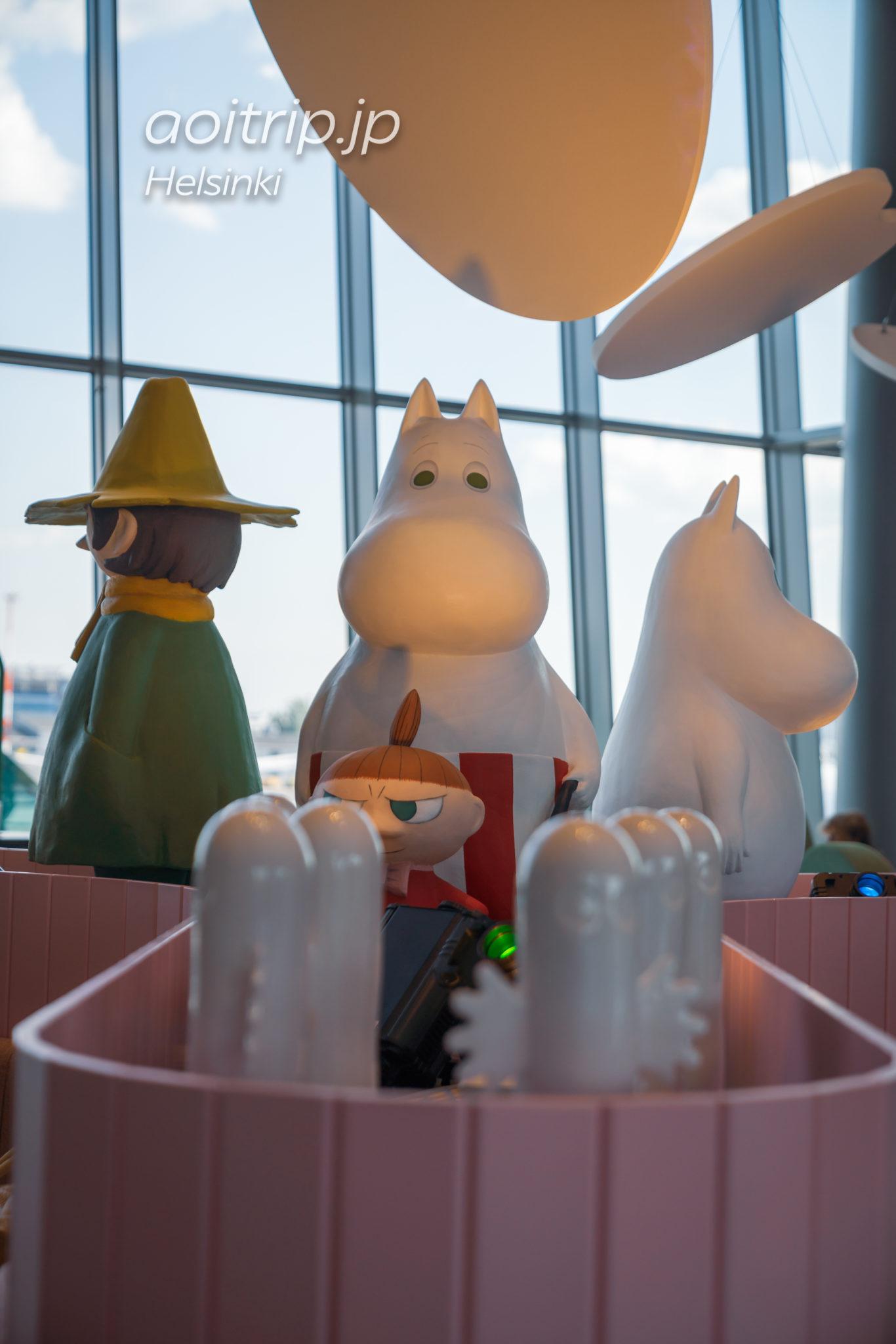 ヘルシンキ ヴァンター国際空港のムーミンコーヒー