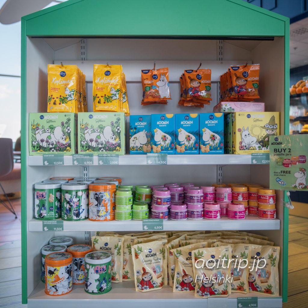 ヘルシンキ ヴァンター国際空港のムーミンコーヒーのショップ