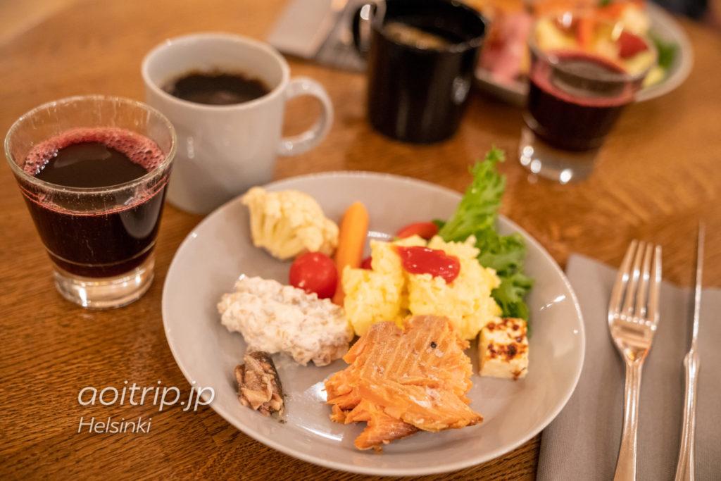 ホテルクラウスKの朝食ビュッフェ