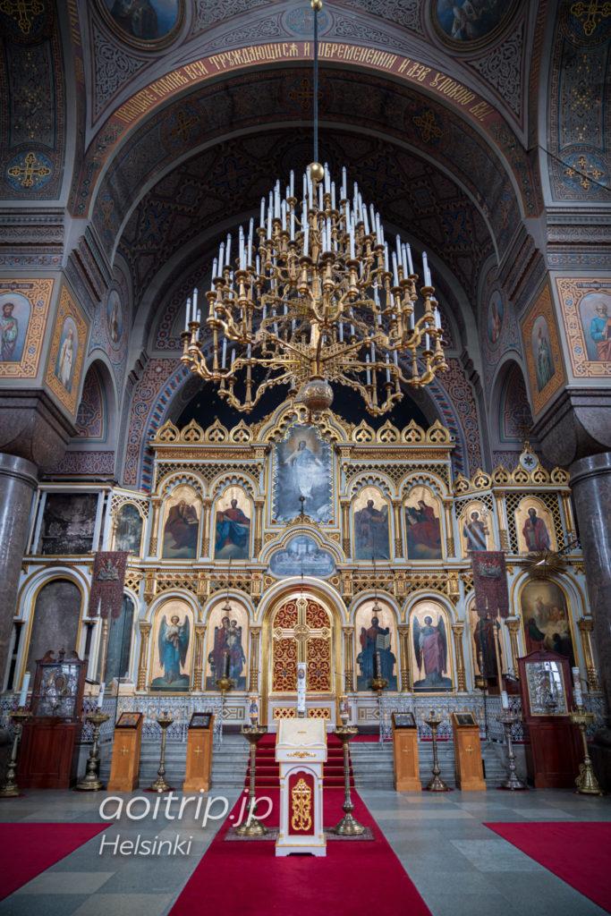 ヘルシンキ生神女就寝大聖堂の祭壇
