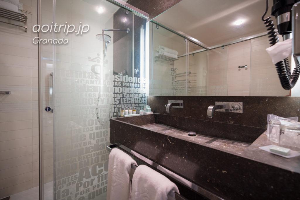 パラドール デ グラナダのバスルーム