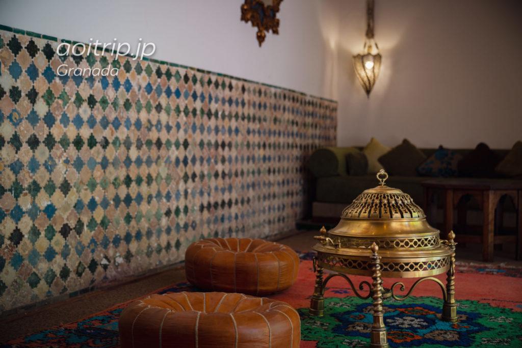 パラドールデグラナダのLa Sala Nazarí(Nazarí Room)