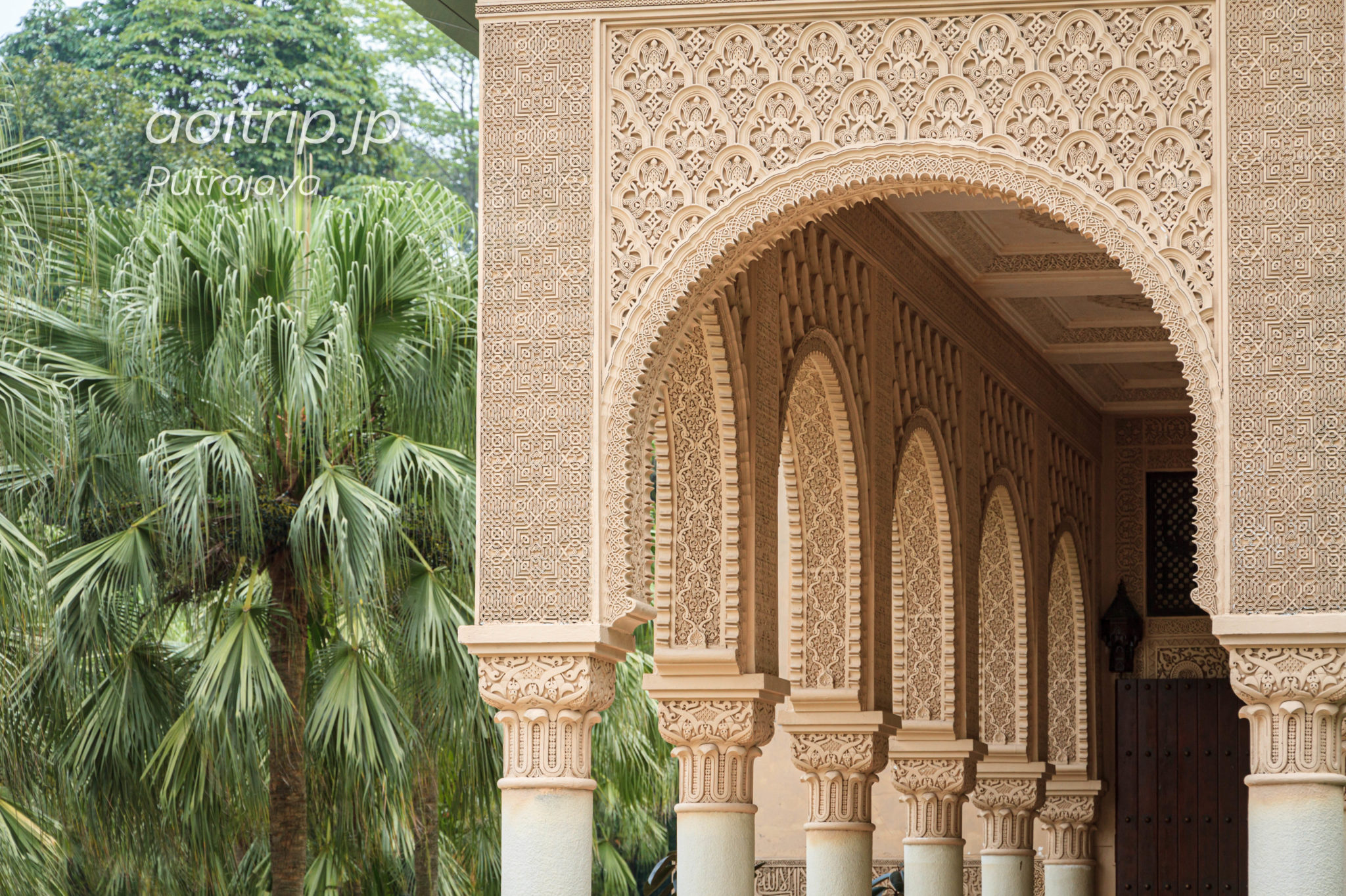 プトラジャヤのモロッカンパビリオン(Moroccan Pavilion)