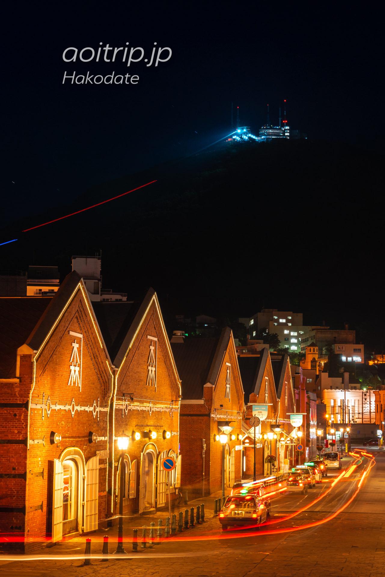 金森赤レンガ倉庫・函館の夜景