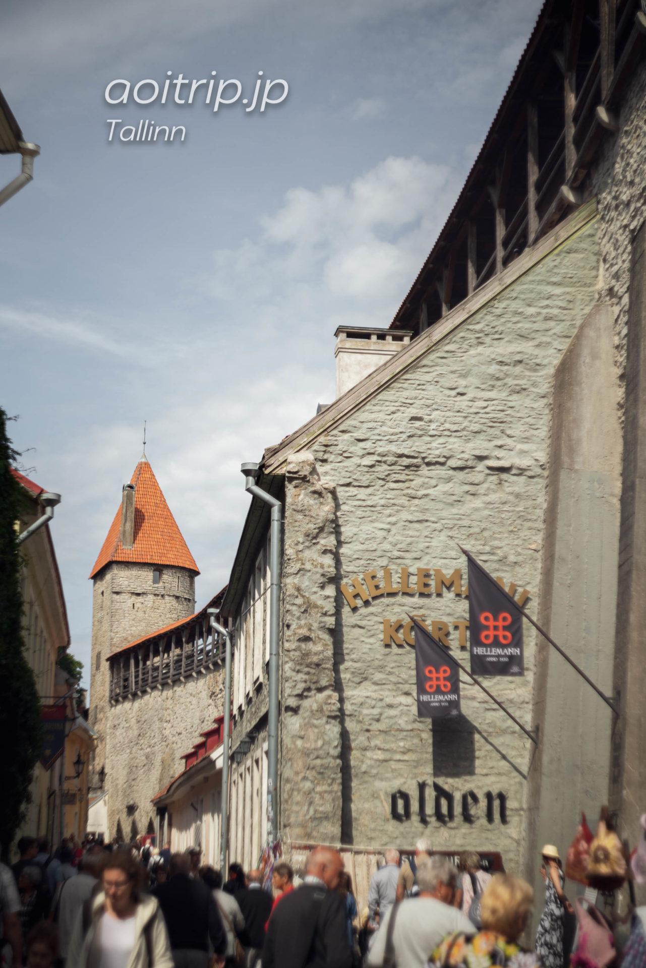 タリンの城壁
