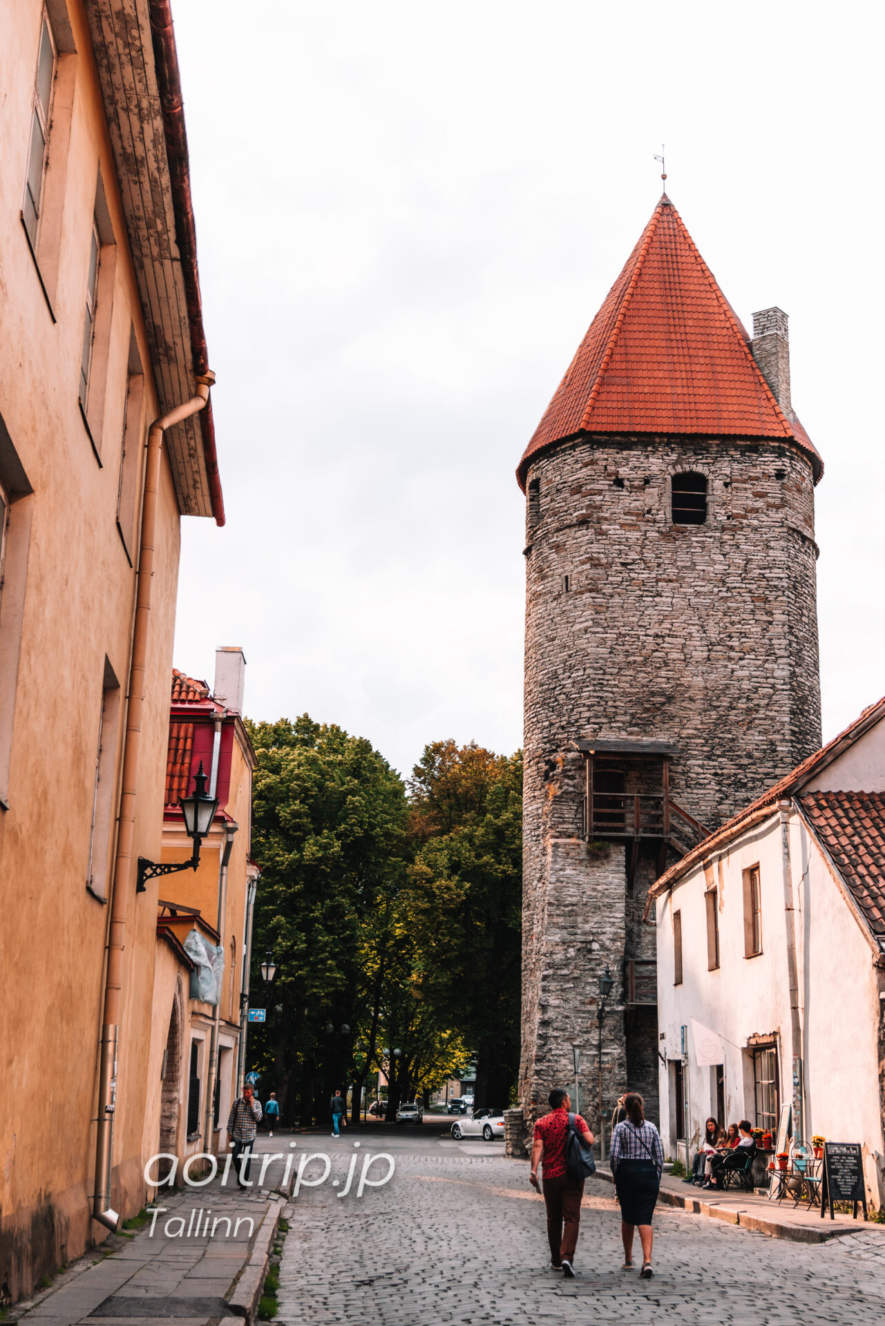 エストニア タリンのPlate Tower