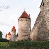 エストニア タリン西側の塔周辺を散策する