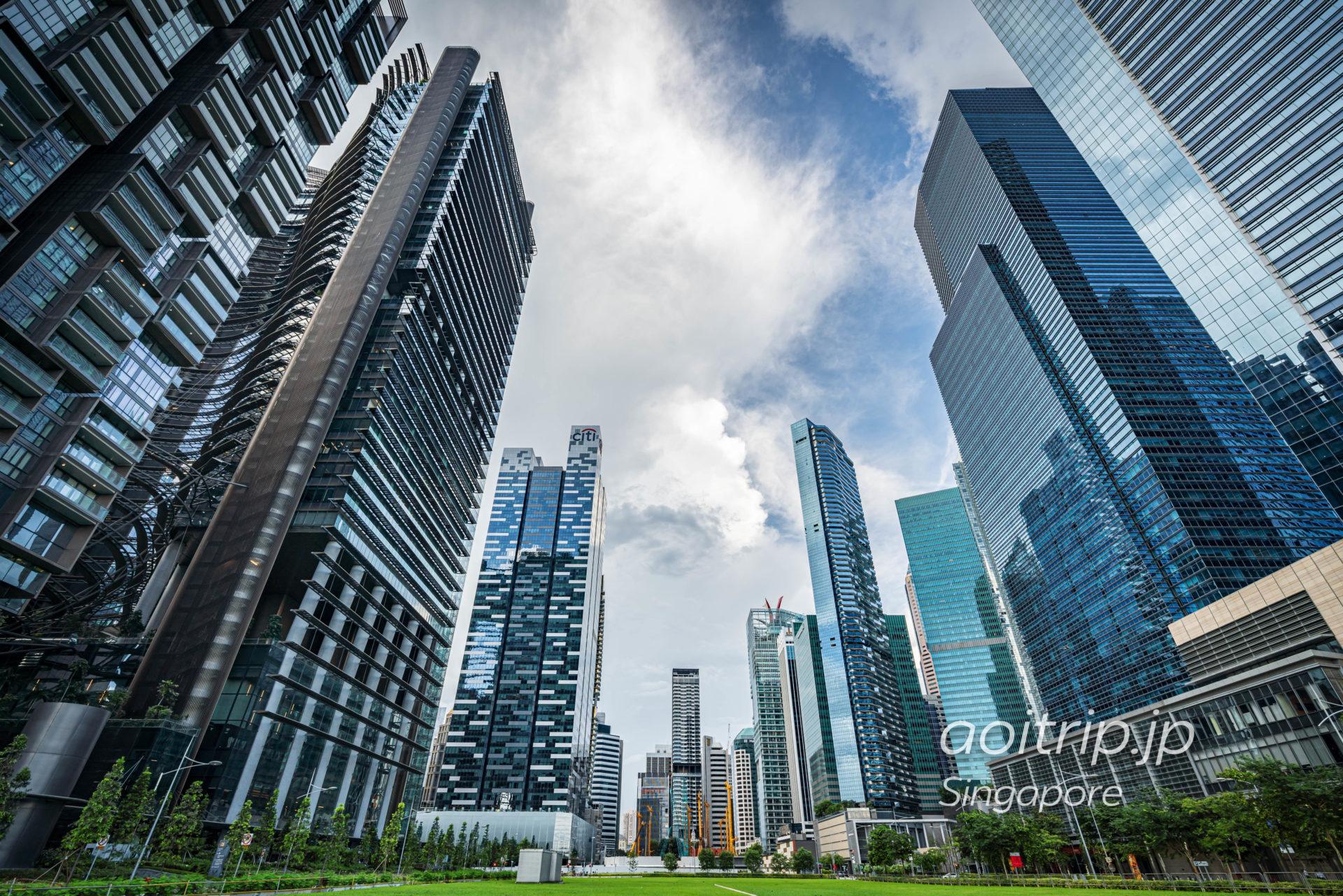 シンガポールのダウンタウン