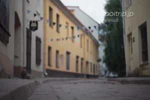リトアニア ヴィリニュスのユダヤ人街区(ゲットー)