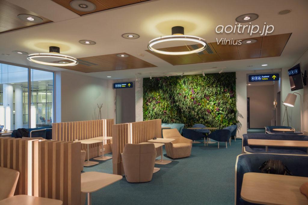 ヴィリニュス空港 ナルブタス ビジネスラウンジ Narbutas Business Lounge, Vilnius Airport