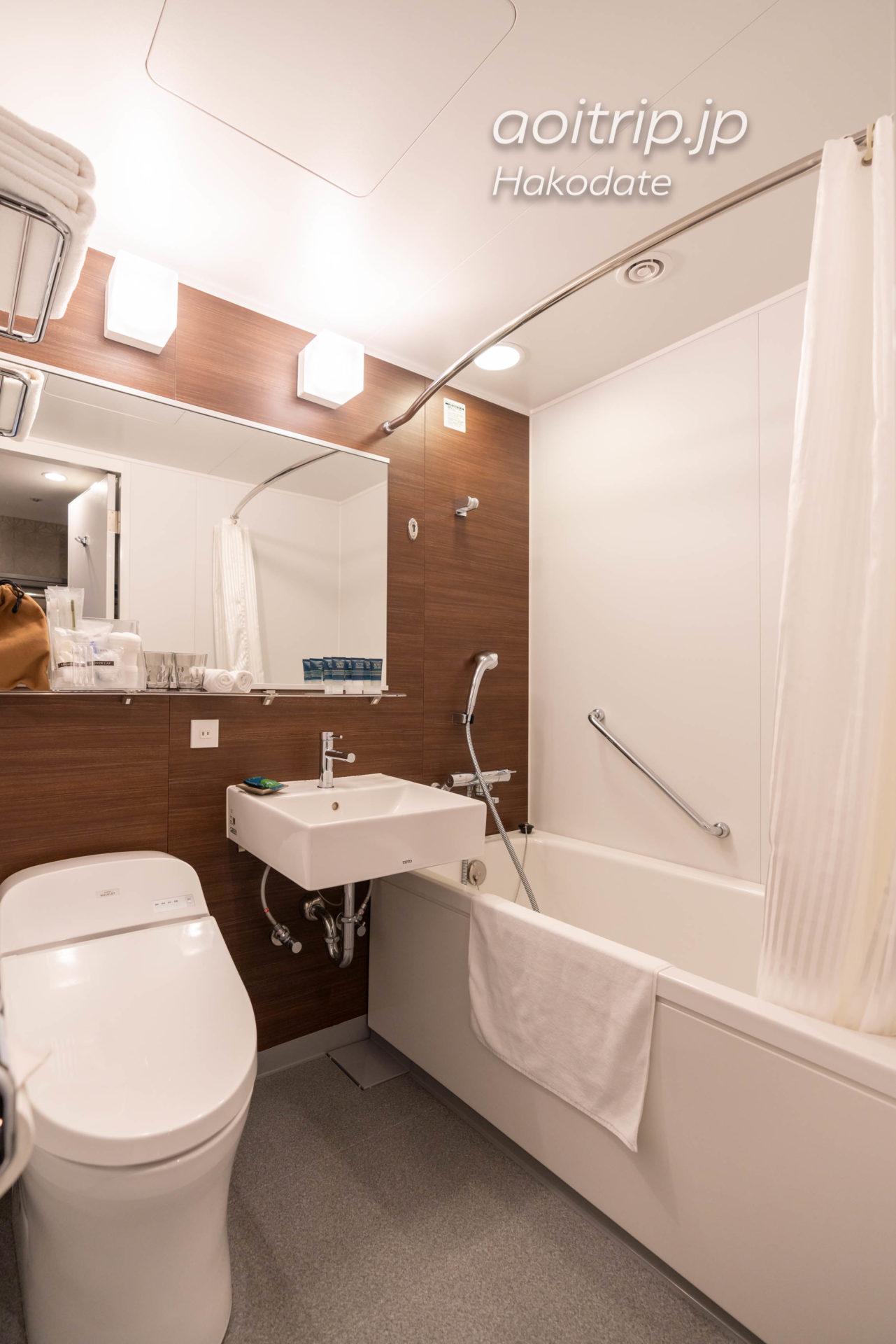 フォーポイント バイ シェラトン函館のバスルーム