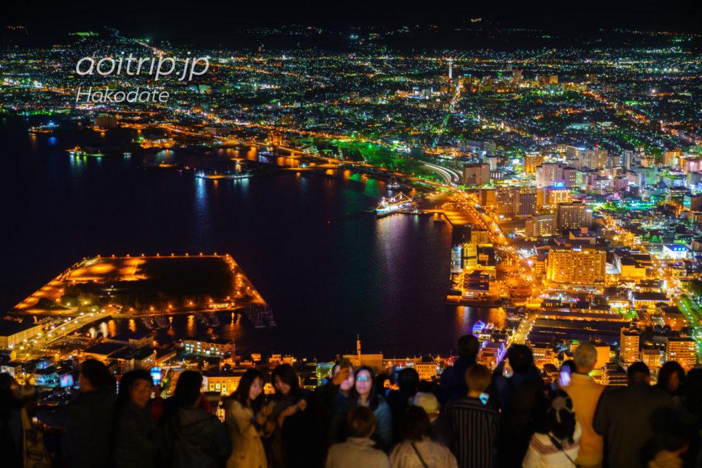 函館山の混雑