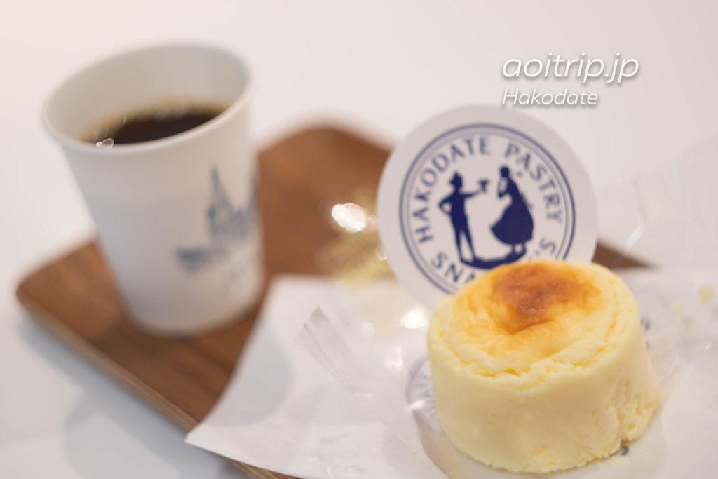 函館金森赤レンガ倉庫 スナッフルスのチーズオムレット