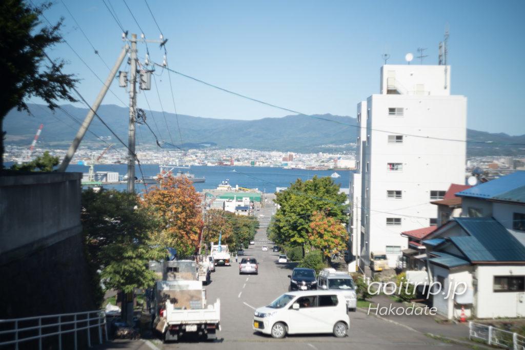 函館の船見坂