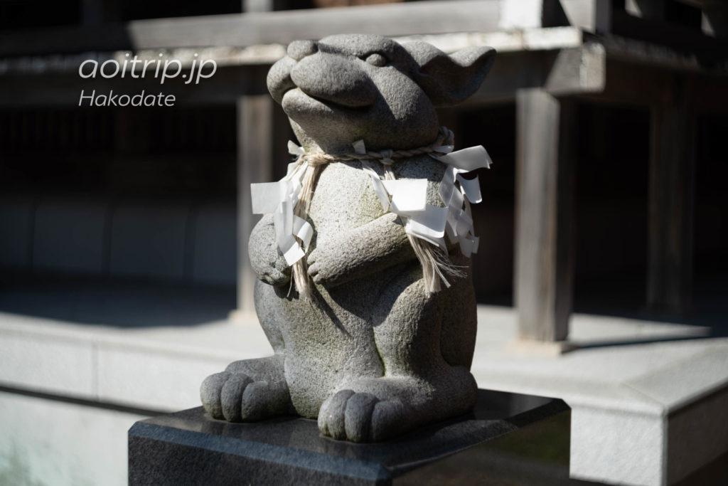函館 湯倉神社 Yukura Shrine Hakodate なでうさぎ神兎 Nadeusagi